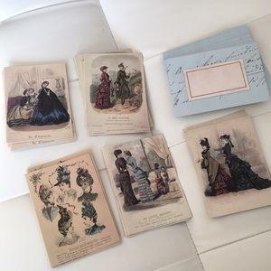 MET Victorian Impressionism cards set Oval box